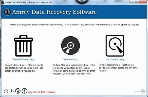 Amrev Data Recovery截图1