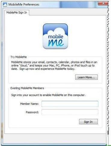 MobileMe截图