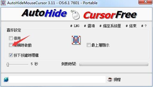 AutoHideMouseCursor截图