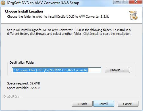 iOrgSoft DVD to AMV Converter截图