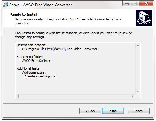AVGO Free Video Converter截图