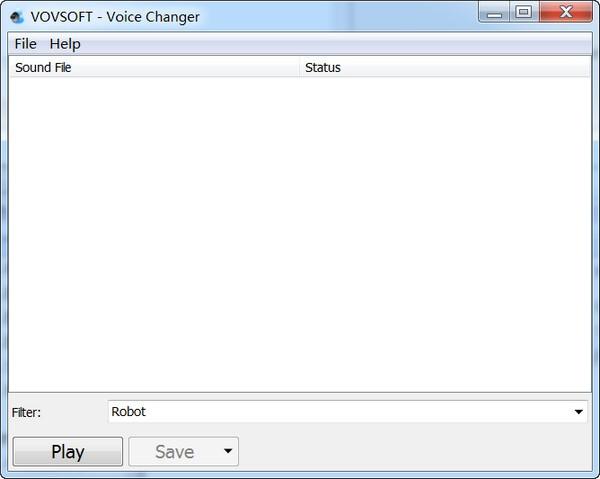 Vovsoft Voice Changer截图