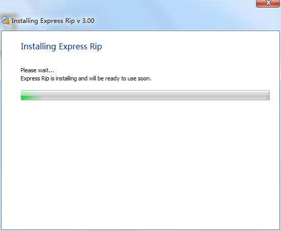 Express Rip CD Ripper截图