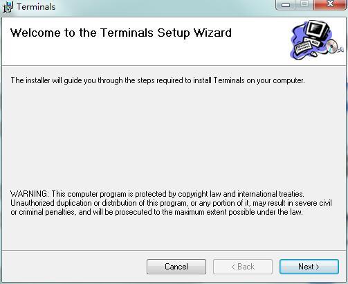 Terminals截图