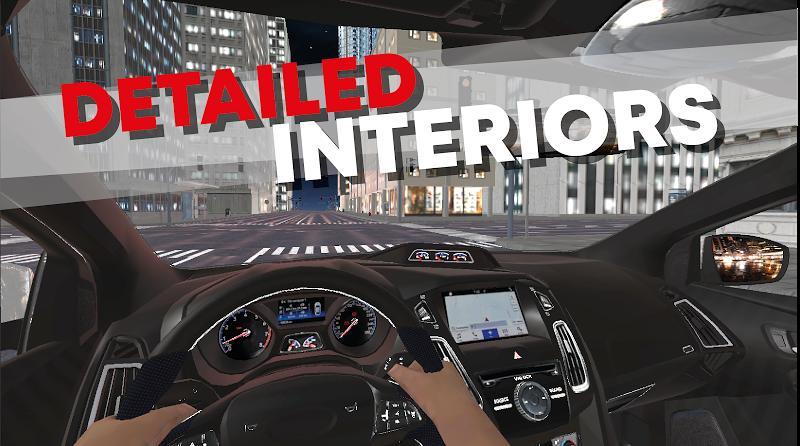 汽车驾驶模拟机截图