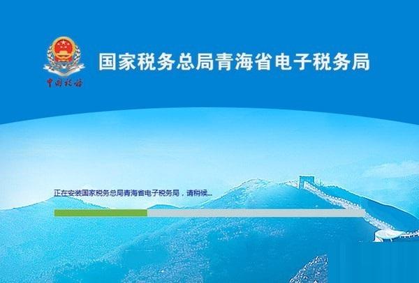 青海省电子税务局截图