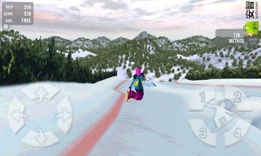 真实滑雪截图