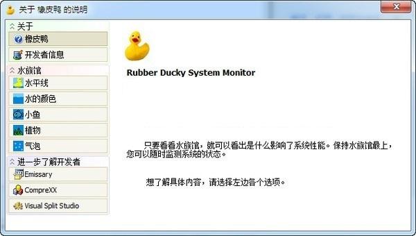 橡皮鸭系统检测工具截图