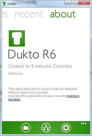 Dukto R6截图