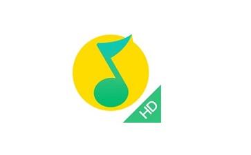 QQ音乐HD段首LOGO
