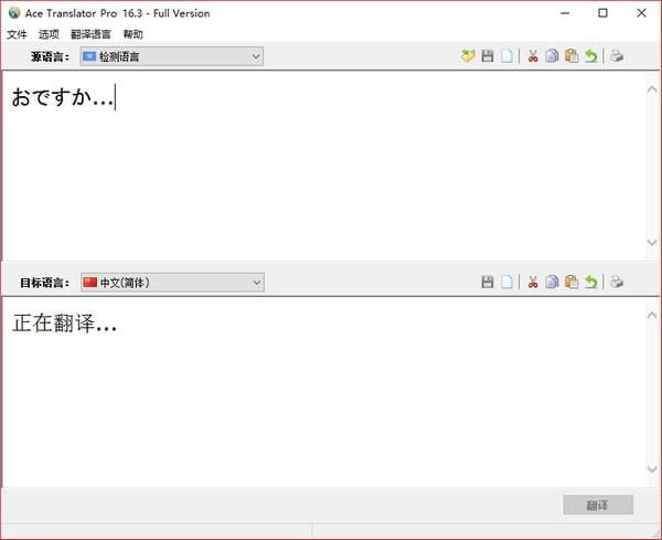 Ace Translator Pro截图