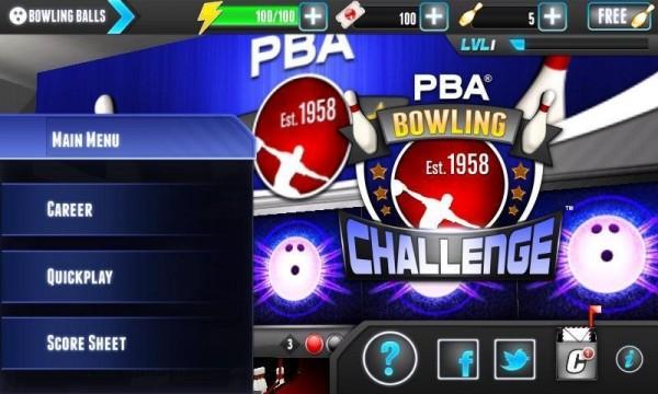 PBA保齡球挑戰賽截圖