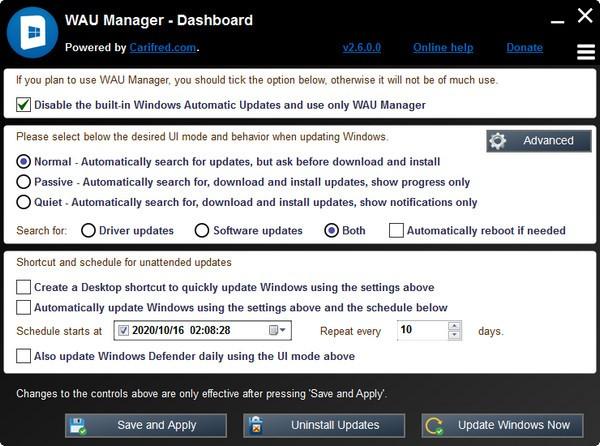 WAU Manager截图