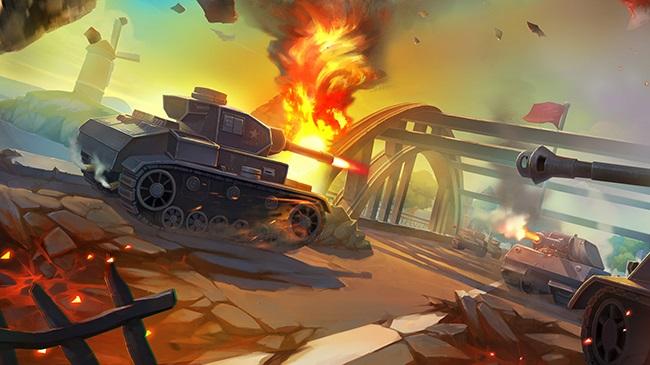 坦克大战截图