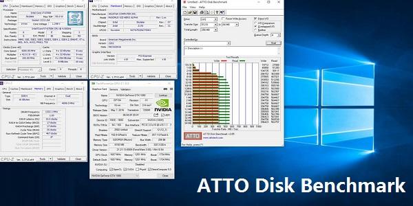 ATTO Disk Benchmark截图