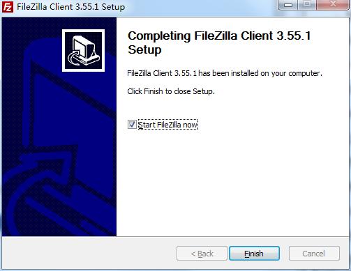 FileZilla截图