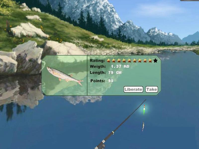 仿真钓鱼游戏截图