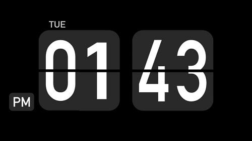 翻页时钟:Flip Clock