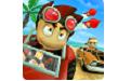 沙滩赛车游戏段首LOGO