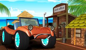 沙滩赛车游戏截图