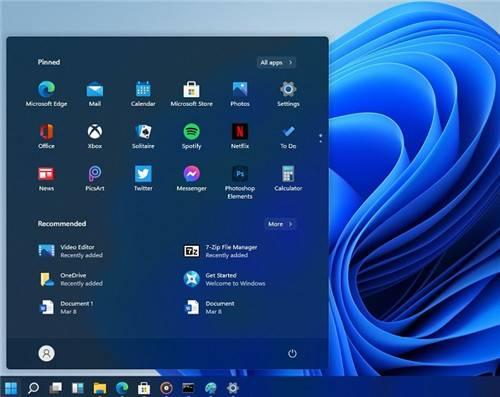Windows11 Insider Preview Build 22000.176截图