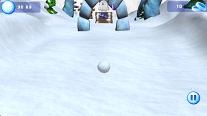 雪球跑酷截图