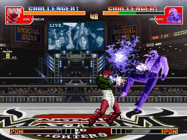 拳皇97无限能量版截图