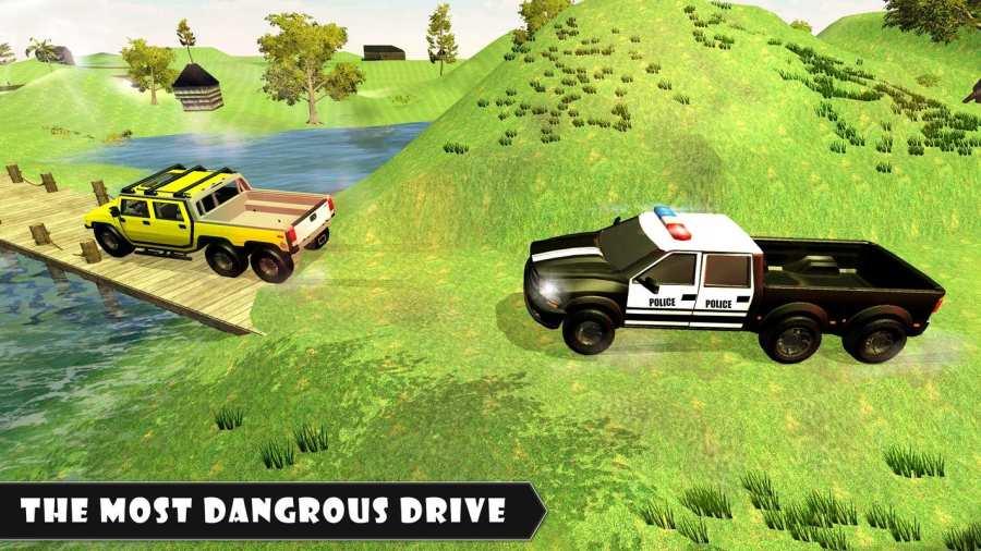 6x6越野警车驾驶模拟器截图