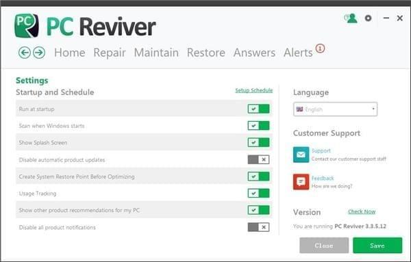 ReviverSoft PC Reviver截图